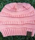 soft pink cc beanie