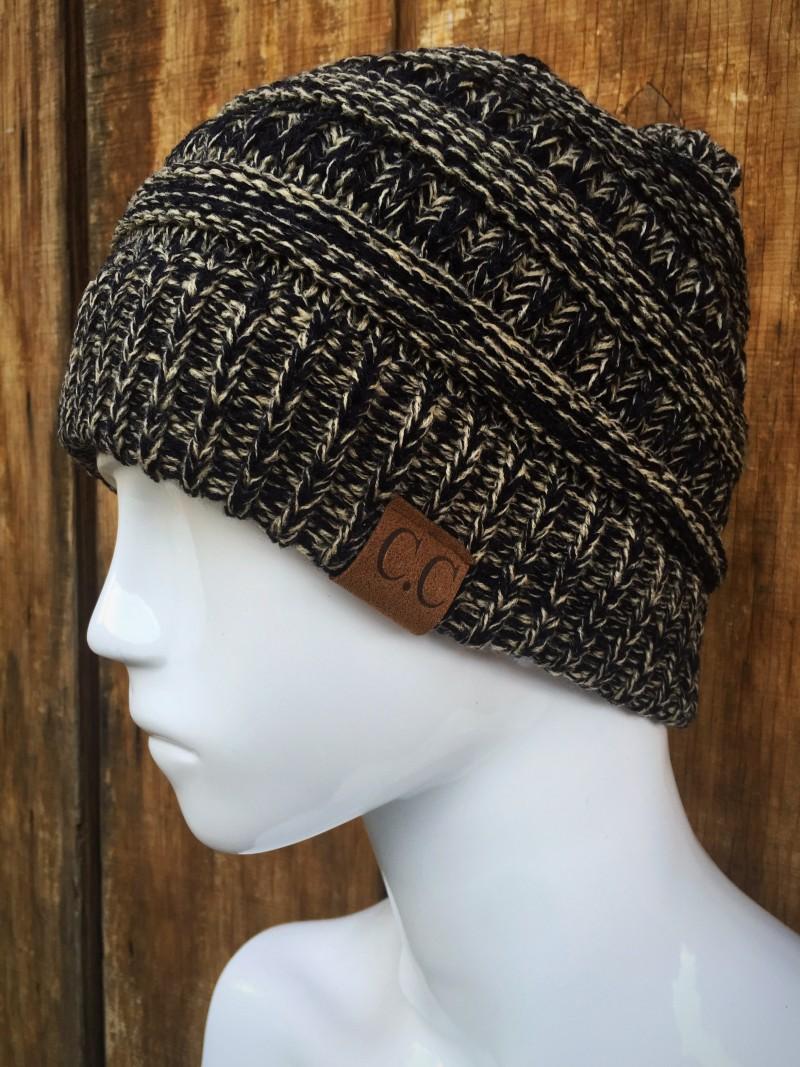dca20d8d50027d Home/Shop/Accessories/Beanies / Hats. Multi Color Knit CC ...