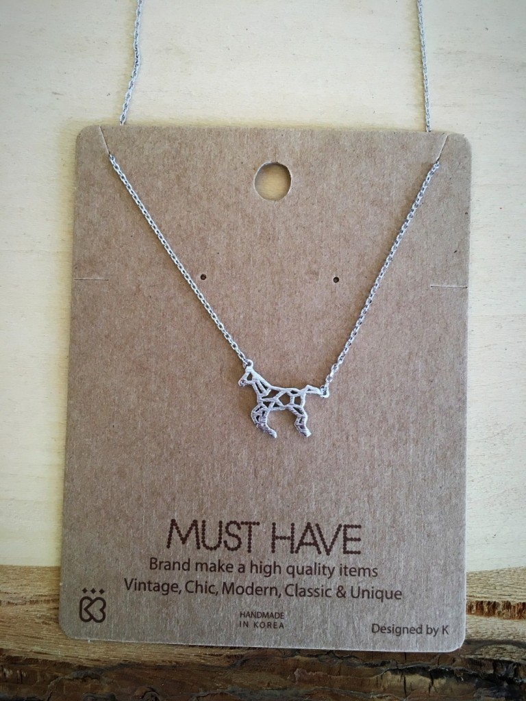 Must Have Silver Horse Necklace