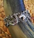 Cowgirl Stretch Bracelet ( Silver )