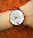 Multi Feather Dream Catcher Watch ( Brownish )