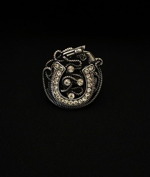 Horseshoe & Gun Ring