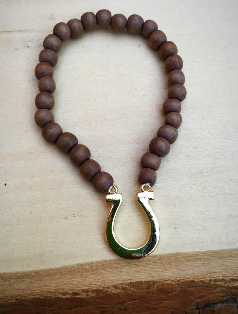 Handmade Horseshoe Bracelet