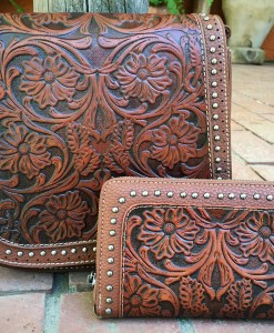 TRINITY RANCH TOOLED SET