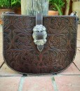 trinity ranch tooled purse