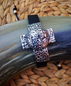 Praying Cowboy Cross Bracelet