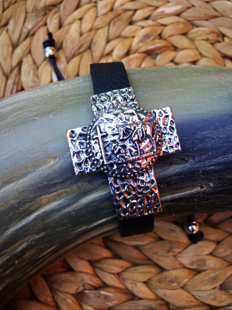 Praying Cowboy Cross Bracelet