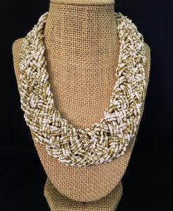 Classic braided bead Necklace