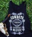 cowboys trucks & country music