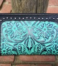 TRINITY RANCH TOOLED WALLET