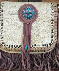 TRINITY RANCH FRINGE CROSSBODY BAG