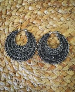 Half Moon Detailed Earrings
