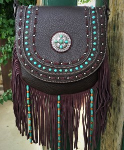 Montana West Fringe Handbag
