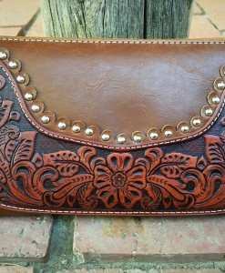 MONTANA WEST TOOLED WALLET