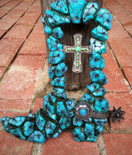 Turquoise Boot Wall decor