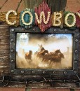 Montana West Cowboy Photo Frame