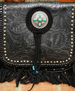 TRINITY RANCH FRINGE PURSE