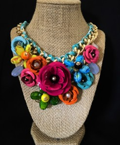 Summer 3D Flower Necklace