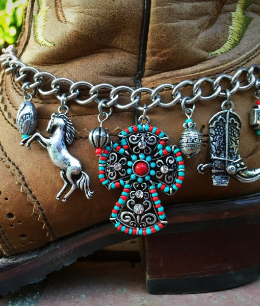 MIX WESTERN BOOT CHARM