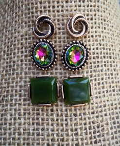 stud set earrings