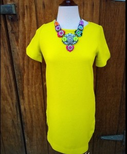 Neon Yellow Dress
