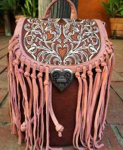 montana west fringe cowgirl backpack