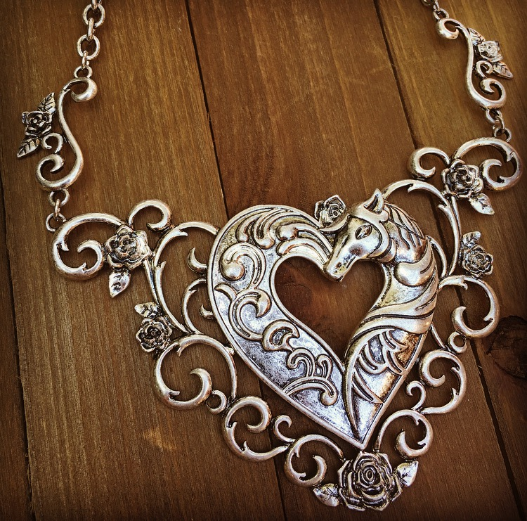 Equestrian Love Necklace