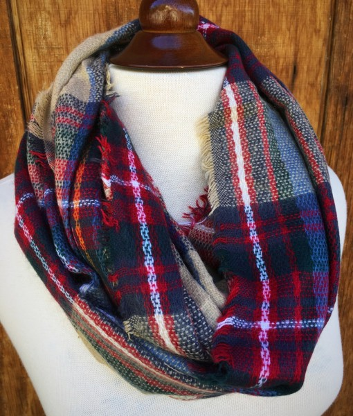 Fashion Blogger Favorite Plaid Scarf
