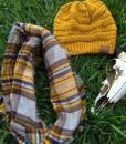 women's plaid scarf