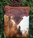 100% Leather Crossbody Cowhide