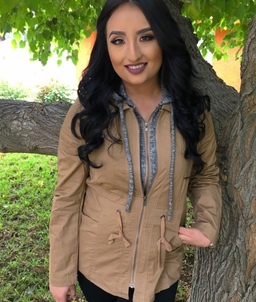 COMFY CHIC UTILITY JACKET