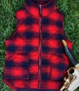 WOMENS PLAID VEST