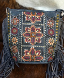 montana west fringe purse