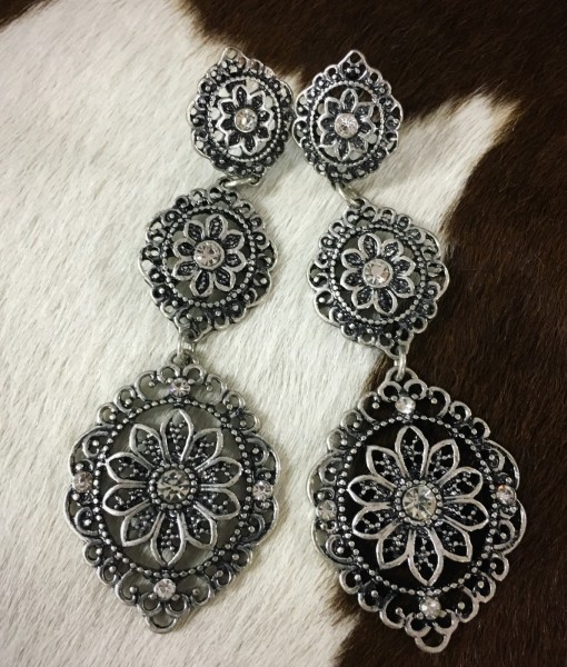 ANASTASIA FLOWER EARRINGS