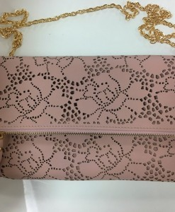 ROSE CUT OUT CLUTCH CROSSBODY