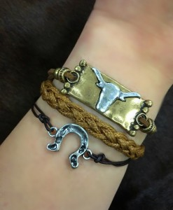 """ Long Live Cowgirls "" Arm Candy Bracelet"