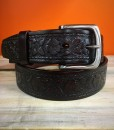 WOMENS TOOLED LEATHER BELT