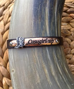 cowgirl up bracelet