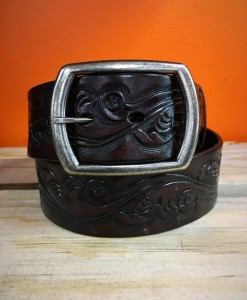 FAVORITE FLORAL TOOLED BELT