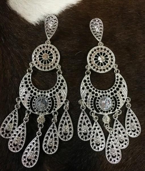 fashion earrings crystal