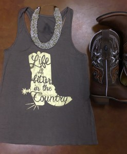 Life Is Better In The Country  Tank Top