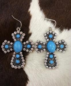 turquoise earrins