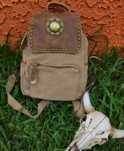 Montana West Canvas Concho Backpack