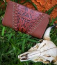 TRINITY RANCH FLORAL TOOLED WALLET