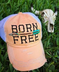 BORN FREE CAP