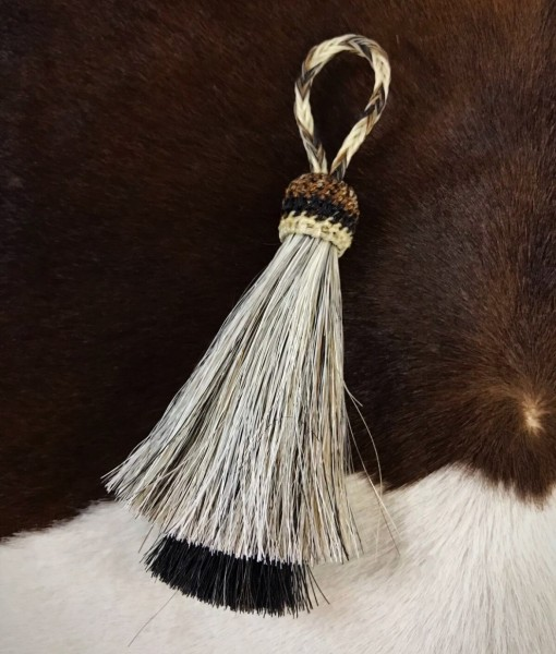 HORSEHAIR KEYCHAINS
