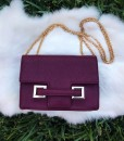 """ T"" Chain Handbag / Crossbody"