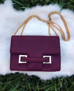 """ T"" Chain Handbag / Crossbody"