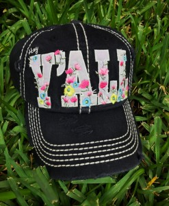 HEY YALL FLORAL CAP