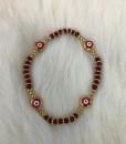 Evil Eye Bracelet ( Red,01 )